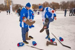 Хоккей в валенках 1