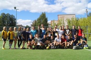 В Бологое прошел спортивный праздник, посвященный Дню физкультурника