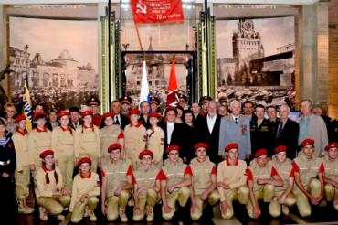 Георгиевцы из Лесного района Тверской области вступили в ряды «Юнармии»