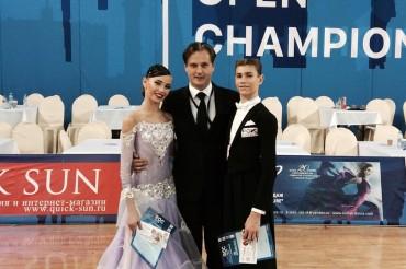 Танцевальный дуэт из Твери завоевал две престижные награды