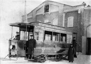 Первый тверской трамвай