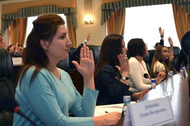 Молодые парламентарии готовы к труду