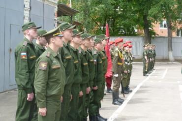 Призывники из Тверской области будут служить в Роте почетного караула Вооруженных сил РФ
