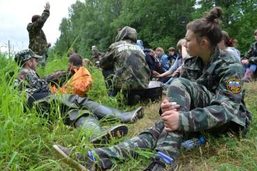 В Лихославльском районе начала свою работу областная «Школа молодого поисковика»