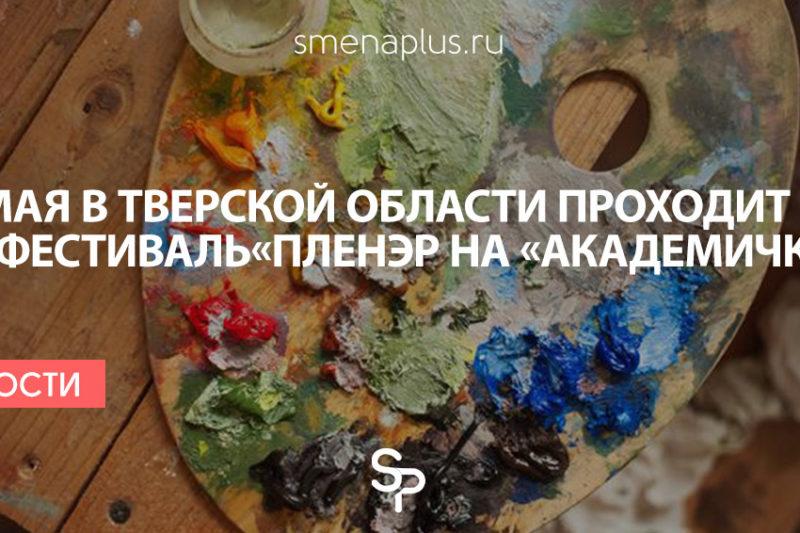 В Тверской области проходит арт-фестиваль  «Пленэр на «Академичке»