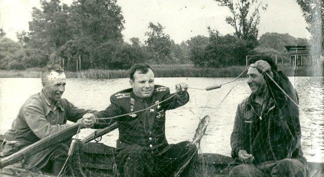 Ю.Гагарин в Завидово (1)